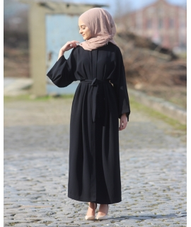 Abaya with Waistband