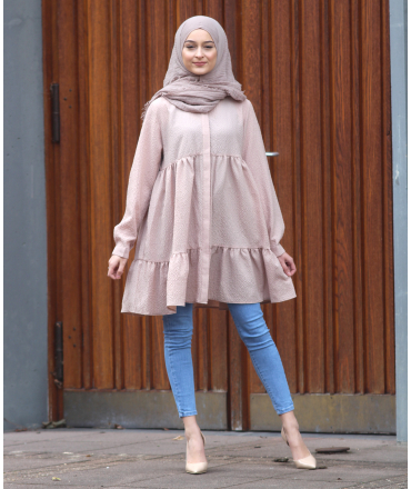Tunic with Gathering