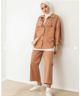 Suit with Blouse